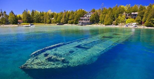 Η λίμνη με τα 22 ναυάγια (Photos) - e-Nautilia.gr | Το Ελληνικό Portal για την Ναυτιλία. Τελευταία νέα, άρθρα, Οπτικοακουστικό Υλικό