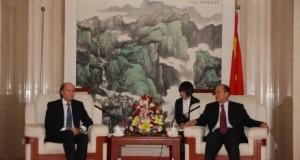 Συνάντηση Ανδρέα Τσαβλίρη με υπουργό Μεταφορών της Κίνας
