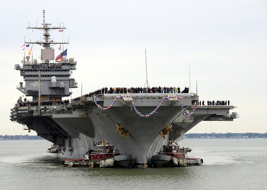 Απόσυρση για το αεροπλανοφόρο USS Enterprise (Φωτο) - e-Nautilia.gr   Το Ελληνικό Portal για την Ναυτιλία. Τελευταία νέα, άρθρα, Οπτικοακουστικό Υλικό