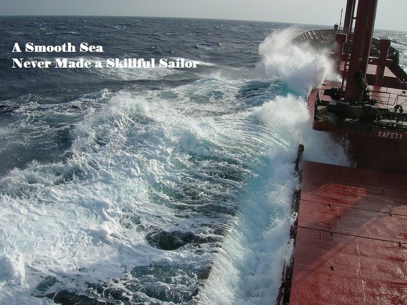 Οι ικανότητες αποκτούνται μέσα από δύσκολες καταστάσεις - e-Nautilia.gr | Το Ελληνικό Portal για την Ναυτιλία. Τελευταία νέα, άρθρα, Οπτικοακουστικό Υλικό