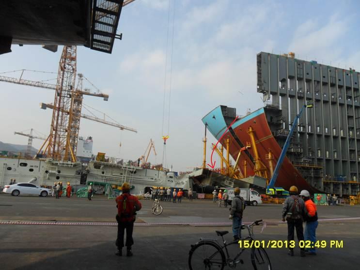 Θανατηφόρο ατύχημα στα ναυπηγεία Daewoo της Κορέας - e-Nautilia.gr | Το Ελληνικό Portal για την Ναυτιλία. Τελευταία νέα, άρθρα, Οπτικοακουστικό Υλικό