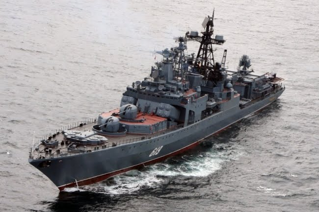 H ρωσική φρεγάτα Severomorsk στη Σούδα - e-Nautilia.gr | Το Ελληνικό Portal για την Ναυτιλία. Τελευταία νέα, άρθρα, Οπτικοακουστικό Υλικό