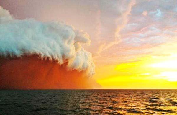 Τσουνάμι κόκκινης σκόνης στις ακτές της βορειοδυτικής Αυστραλίας [βίντεο+φωτο] - e-Nautilia.gr | Το Ελληνικό Portal για την Ναυτιλία. Τελευταία νέα, άρθρα, Οπτικοακουστικό Υλικό