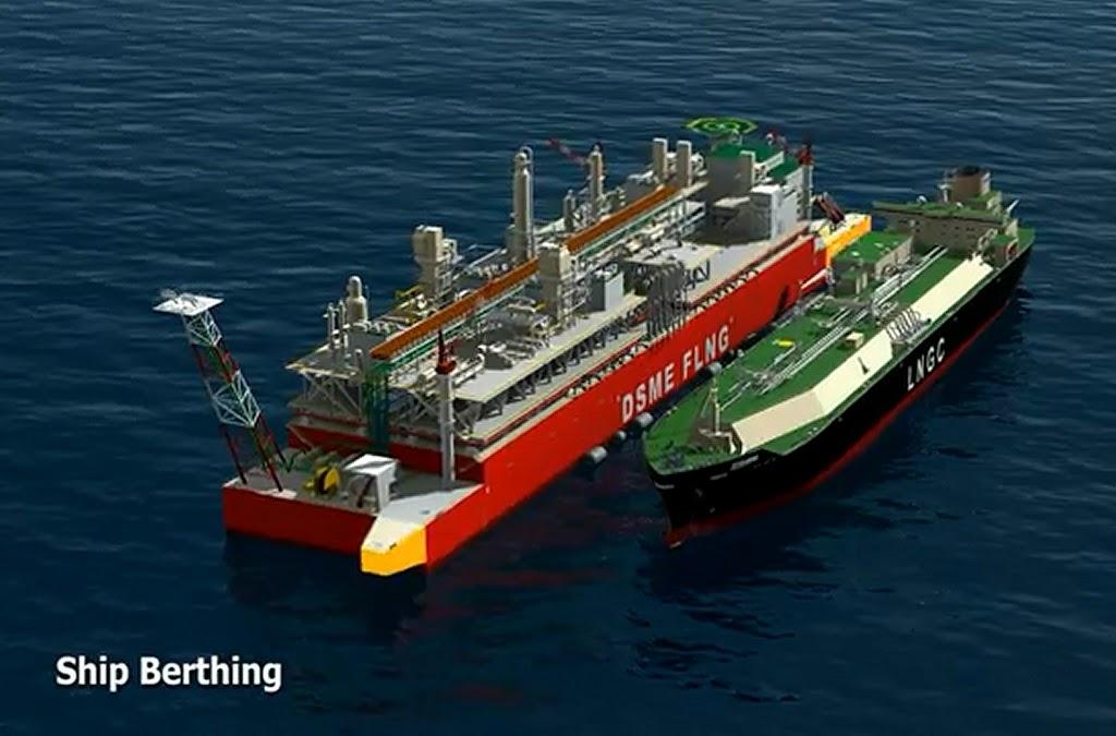 Δείτε το πρώτο LNG FPSO  (Video) - e-Nautilia.gr | Το Ελληνικό Portal για την Ναυτιλία. Τελευταία νέα, άρθρα, Οπτικοακουστικό Υλικό