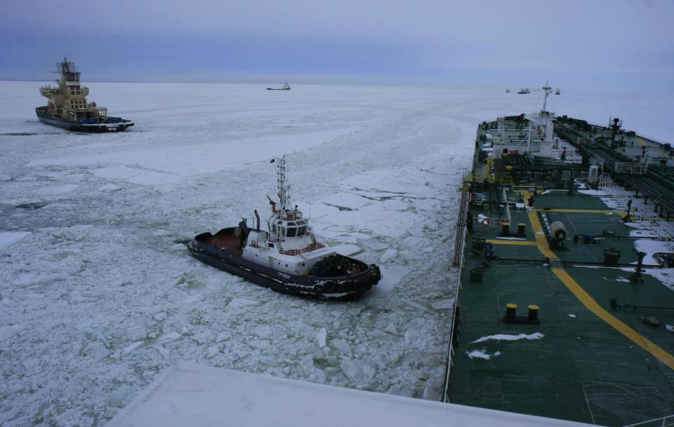 Φωτογραφία ημέρας – Ship in Frozen Sea - e-Nautilia.gr | Το Ελληνικό Portal για την Ναυτιλία. Τελευταία νέα, άρθρα, Οπτικοακουστικό Υλικό