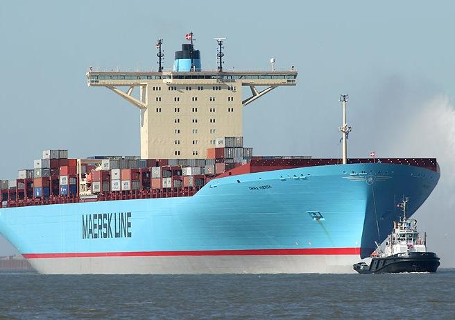Εισροή υδάτων στο Emma Maersk - e-Nautilia.gr | Το Ελληνικό Portal για την Ναυτιλία. Τελευταία νέα, άρθρα, Οπτικοακουστικό Υλικό