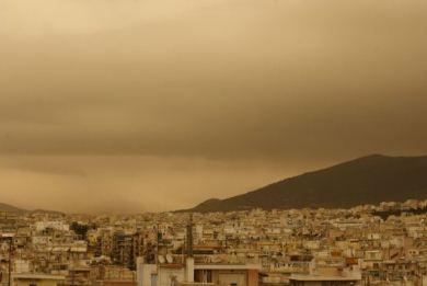 Χτύπησαν κόκκινο οι σωματιδιακοί ρύποι από την σκόνη της Σαχάρας - e-Nautilia.gr | Το Ελληνικό Portal για την Ναυτιλία. Τελευταία νέα, άρθρα, Οπτικοακουστικό Υλικό
