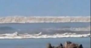 Τσουνάμι.. φοβερές σκηνές!!! [βίντεο]