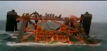 Βύθιση πλατφόρμας πετρελαίου στον Περσικό Κόλπο [βίντεο] - e-Nautilia.gr | Το Ελληνικό Portal για την Ναυτιλία. Τελευταία νέα, άρθρα, Οπτικοακουστικό Υλικό