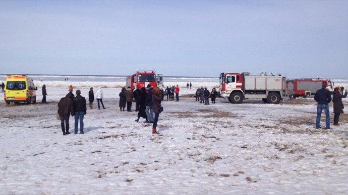 Εκατοντάδες άνθρωποι παρασύρθηκαν σε κομμάτι πάγου στην ανοιχτή θάλασσα στις ακτές της Λετονίας - e-Nautilia.gr | Το Ελληνικό Portal για την Ναυτιλία. Τελευταία νέα, άρθρα, Οπτικοακουστικό Υλικό