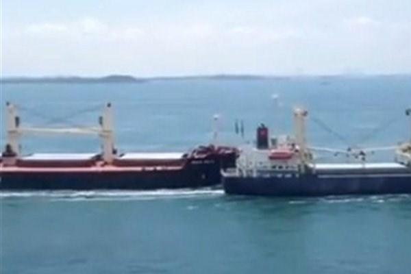 Απίστευτη σύγκρουση δύο πλοίων στα στενά της Σιγκαπούρης [Βίντεο] - e-Nautilia.gr | Το Ελληνικό Portal για την Ναυτιλία. Τελευταία νέα, άρθρα, Οπτικοακουστικό Υλικό