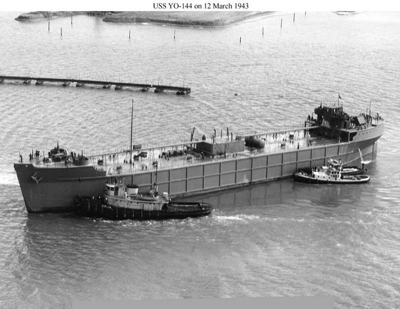 Φωτογραφία ημέρας – USS YO – 144 on 12 March 1943 - e-Nautilia.gr | Το Ελληνικό Portal για την Ναυτιλία. Τελευταία νέα, άρθρα, Οπτικοακουστικό Υλικό