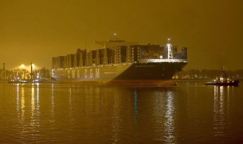 Φωτογραφία ημέρας – Marco Polo at Night - e-Nautilia.gr | Το Ελληνικό Portal για την Ναυτιλία. Τελευταία νέα, άρθρα, Οπτικοακουστικό Υλικό