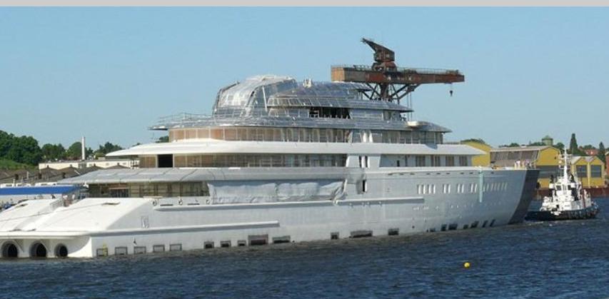 Κατασκευάστηκε το μεγαλύτερο yacht του κόσμου - e-Nautilia.gr | Το Ελληνικό Portal για την Ναυτιλία. Τελευταία νέα, άρθρα, Οπτικοακουστικό Υλικό