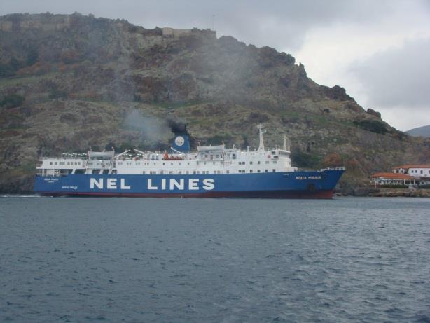 Λήμνος: Δεν μπορεί να εξυπηρετείται από πλοία όπως το «Aqua Maria» - e-Nautilia.gr | Το Ελληνικό Portal για την Ναυτιλία. Τελευταία νέα, άρθρα, Οπτικοακουστικό Υλικό