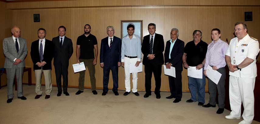 Βραβεύτηκαν οι ναυτικοί που έπιασαν στεριά το 2009 - e-Nautilia.gr | Το Ελληνικό Portal για την Ναυτιλία. Τελευταία νέα, άρθρα, Οπτικοακουστικό Υλικό
