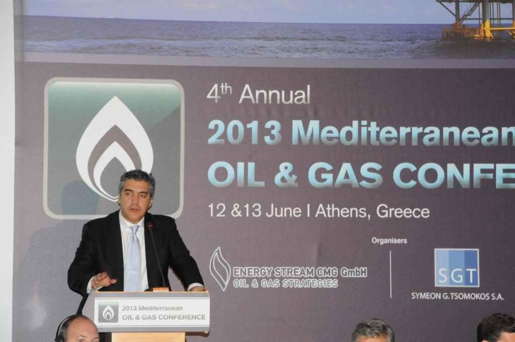 Στο 4ο «Annual Mediterranean Oil & Gas Conference» ο Μουσουρούλης - e-Nautilia.gr | Το Ελληνικό Portal για την Ναυτιλία. Τελευταία νέα, άρθρα, Οπτικοακουστικό Υλικό