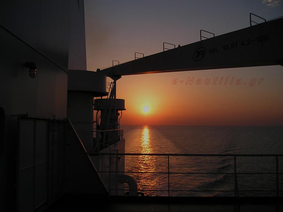 Φωτογραφία ημέρας – Sunset… - e-Nautilia.gr | Το Ελληνικό Portal για την Ναυτιλία. Τελευταία νέα, άρθρα, Οπτικοακουστικό Υλικό