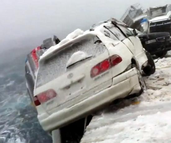 Όταν η κακοκαιρία έριχνε 52 αμάξια στη θάλασσα από πλοίο που τα μετέφερε στο κατάστρωμα του! [βίντεο] - e-Nautilia.gr   Το Ελληνικό Portal για την Ναυτιλία. Τελευταία νέα, άρθρα, Οπτικοακουστικό Υλικό