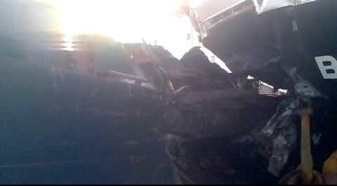 Βίντεο ντοκουμέντο από τη σύγκρουση των εμπορικών πλοίων στην Άνδρο - e-Nautilia.gr | Το Ελληνικό Portal για την Ναυτιλία. Τελευταία νέα, άρθρα, Οπτικοακουστικό Υλικό