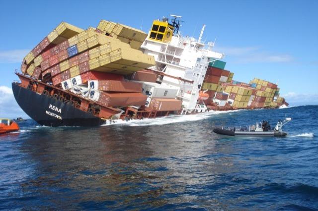 Δείτε την καταστροφή που προκάλεσε το πλοίο κοντέινερ «Rena» στην Νέα Ζηλανδία (Video) - e-Nautilia.gr | Το Ελληνικό Portal για την Ναυτιλία. Τελευταία νέα, άρθρα, Οπτικοακουστικό Υλικό