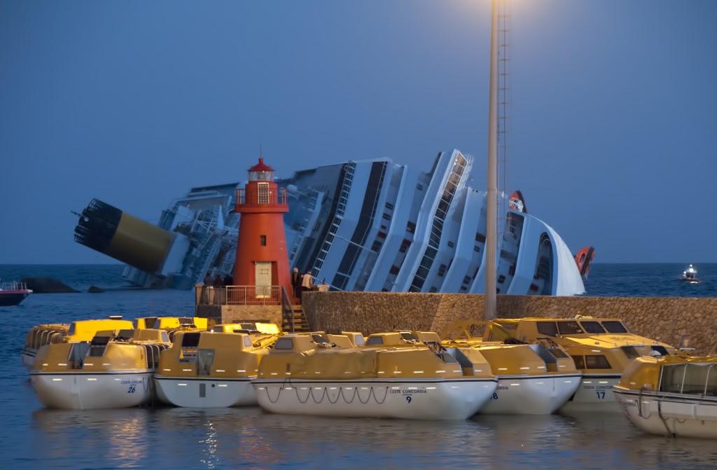 Οι πέντε πρώτες καταδίκες για το ναυάγιο του Costa Concordia - e-Nautilia.gr | Το Ελληνικό Portal για την Ναυτιλία. Τελευταία νέα, άρθρα, Οπτικοακουστικό Υλικό