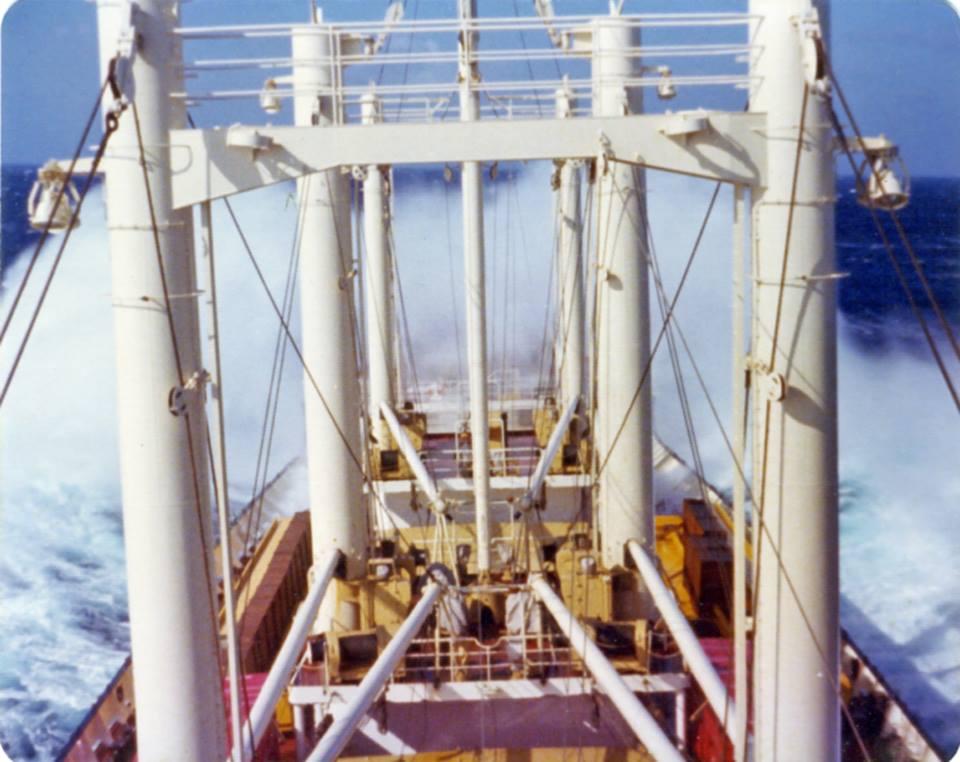 Φωτογραφία ημέρας – Atlantic Ocean, year 1974 mv KASTAV - e-Nautilia.gr | Το Ελληνικό Portal για την Ναυτιλία. Τελευταία νέα, άρθρα, Οπτικοακουστικό Υλικό