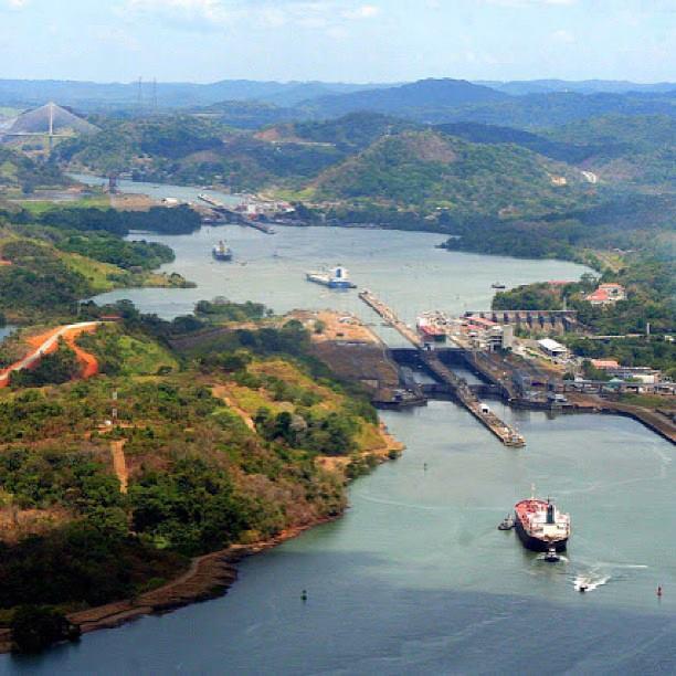 Φωτογραφία ημέρας – Aerial view of Panama Canal - e-Nautilia.gr | Το Ελληνικό Portal για την Ναυτιλία. Τελευταία νέα, άρθρα, Οπτικοακουστικό Υλικό
