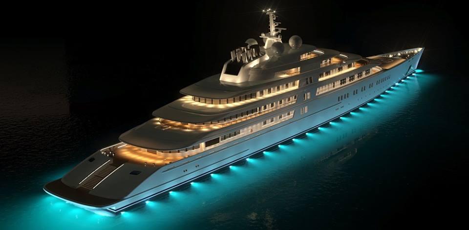 Στο Φισκάρδο το πλωτό παλάτι «Azzam» του Εμίρη - e-Nautilia.gr | Το Ελληνικό Portal για την Ναυτιλία. Τελευταία νέα, άρθρα, Οπτικοακουστικό Υλικό
