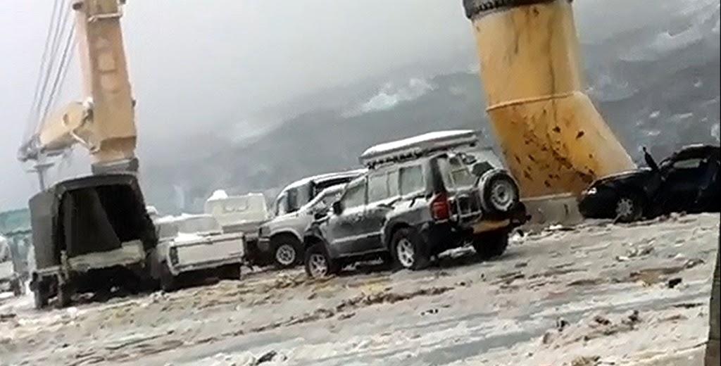 52 αμάξια στον πάτο της θάλασσας τα οποία μετέφερε φορτηγό πλοίο που έπεσε σε κακοκαιρία! [video] - e-Nautilia.gr | Το Ελληνικό Portal για την Ναυτιλία. Τελευταία νέα, άρθρα, Οπτικοακουστικό Υλικό