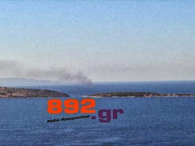 Φωτιά σε ταχύπλοο ανοιχτά της Πλαταριάς - e-Nautilia.gr | Το Ελληνικό Portal για την Ναυτιλία. Τελευταία νέα, άρθρα, Οπτικοακουστικό Υλικό