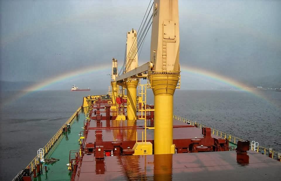 Φωτογραφία ημέρας – Rainbow… - e-Nautilia.gr | Το Ελληνικό Portal για την Ναυτιλία. Τελευταία νέα, άρθρα, Οπτικοακουστικό Υλικό