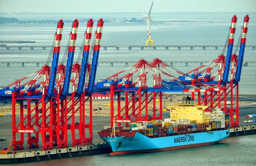Jade Weser Port: Ένα νέο υπερσύγχρονο αλλά άδειο λιμάνι - e-Nautilia.gr   Το Ελληνικό Portal για την Ναυτιλία. Τελευταία νέα, άρθρα, Οπτικοακουστικό Υλικό