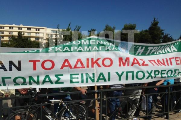 Συγκέντρωση διαμαρτυρίας των εργαζόμενους των ναυπηγείων Σκαραμαγκά στο Πεντάγωνο [βίντεο] - e-Nautilia.gr | Το Ελληνικό Portal για την Ναυτιλία. Τελευταία νέα, άρθρα, Οπτικοακουστικό Υλικό