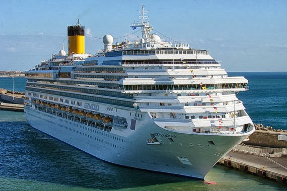 Tο «Costa Pacifica» καταπλέει τη Δευτέρα στο λιμάνι της Θεσσαλονίκης - e-Nautilia.gr | Το Ελληνικό Portal για την Ναυτιλία. Τελευταία νέα, άρθρα, Οπτικοακουστικό Υλικό