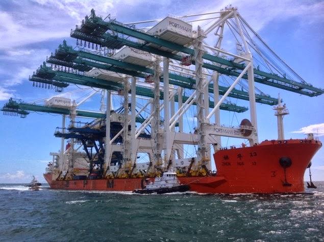 Γερανοί – γίγαντες μεταφέρθηκαν με πλοίο στο Μαϊάμι [φωτο] - e-Nautilia.gr | Το Ελληνικό Portal για την Ναυτιλία. Τελευταία νέα, άρθρα, Οπτικοακουστικό Υλικό