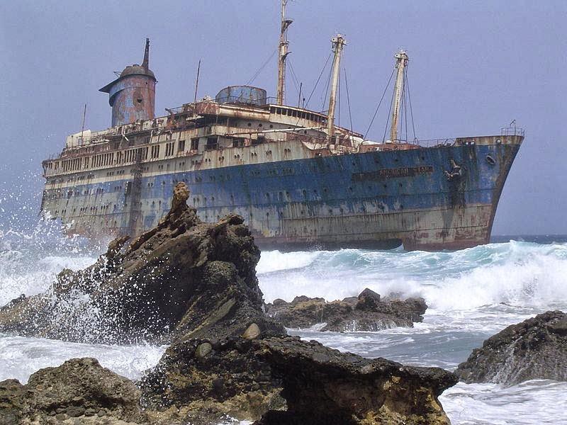 Shipwreck of the SS American Star on the shore of Fuerteventura - e-Nautilia.gr   Το Ελληνικό Portal για την Ναυτιλία. Τελευταία νέα, άρθρα, Οπτικοακουστικό Υλικό