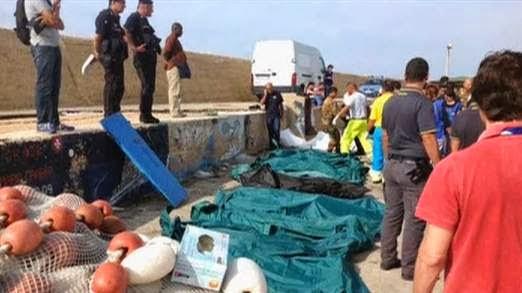 Άλλοι 16 νεκροί εντοπίστηκαν στη Λαμπεντούζα - e-Nautilia.gr | Το Ελληνικό Portal για την Ναυτιλία. Τελευταία νέα, άρθρα, Οπτικοακουστικό Υλικό