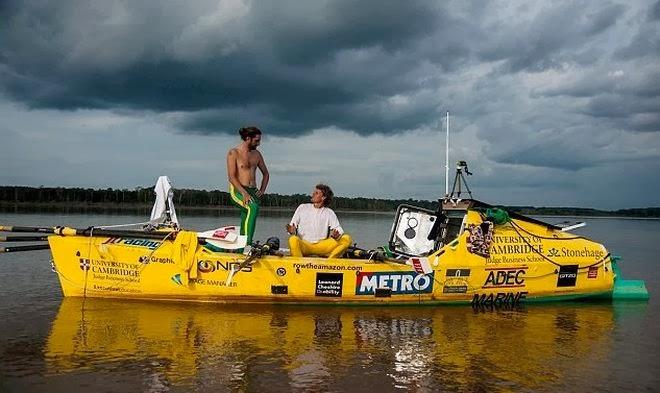 Διέσχισαν τον Αμαζόνιο κωπηλατώντας - e-Nautilia.gr | Το Ελληνικό Portal για την Ναυτιλία. Τελευταία νέα, άρθρα, Οπτικοακουστικό Υλικό