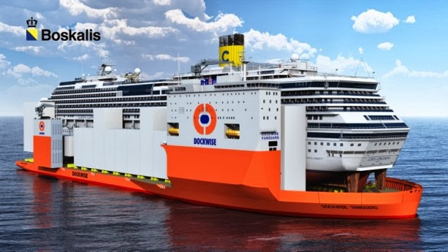 Ένας «γίγαντας» για το Costa Concordia - e-Nautilia.gr | Το Ελληνικό Portal για την Ναυτιλία. Τελευταία νέα, άρθρα, Οπτικοακουστικό Υλικό