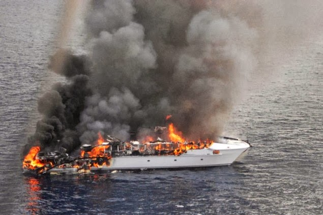 16 άνθρωποι στη θάλασσα μετά από φωτιά σε πολυτελές γιότ - e-Nautilia.gr | Το Ελληνικό Portal για την Ναυτιλία. Τελευταία νέα, άρθρα, Οπτικοακουστικό Υλικό
