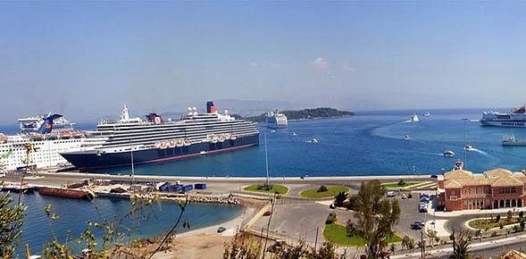Συνεχίζονται οι αφίξεις κρουαζιερόπλοιων στο λιμάνι της Κέρκυρας - e-Nautilia.gr   Το Ελληνικό Portal για την Ναυτιλία. Τελευταία νέα, άρθρα, Οπτικοακουστικό Υλικό