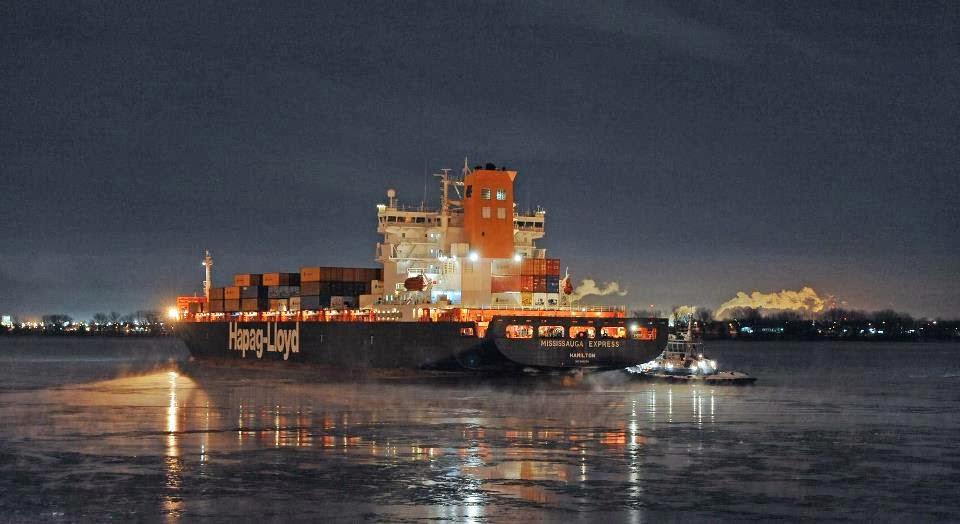 The Mississauga Express Container Ship - e-Nautilia.gr | Το Ελληνικό Portal για την Ναυτιλία. Τελευταία νέα, άρθρα, Οπτικοακουστικό Υλικό
