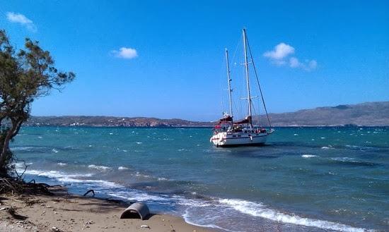 Προσάραξη ιστιοφόρου στη Λέρο - e-Nautilia.gr | Το Ελληνικό Portal για την Ναυτιλία. Τελευταία νέα, άρθρα, Οπτικοακουστικό Υλικό