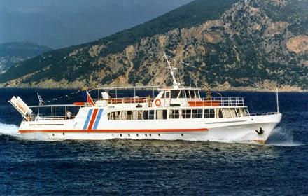 Προσάραξη τουριστικού σκάφους στο Αγκίστρι - e-Nautilia.gr | Το Ελληνικό Portal για την Ναυτιλία. Τελευταία νέα, άρθρα, Οπτικοακουστικό Υλικό