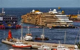 Στην Τουρκία θα μεταφερθεί το κουφάρι του «Costa Concordia» - e-Nautilia.gr | Το Ελληνικό Portal για την Ναυτιλία. Τελευταία νέα, άρθρα, Οπτικοακουστικό Υλικό