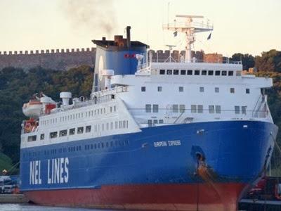 Δεν θα εκτελεστεί το δρομολόγιο του  Ε/Γ-Ο/Γ  European Express - e-Nautilia.gr   Το Ελληνικό Portal για την Ναυτιλία. Τελευταία νέα, άρθρα, Οπτικοακουστικό Υλικό