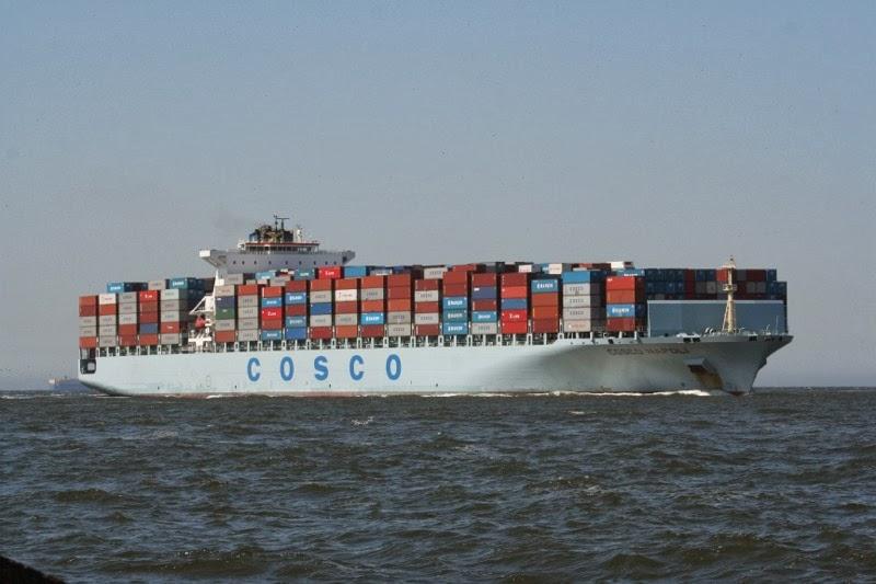 Ζημίες 170,65 εκατ. δολαρίων για την China Cosco Holding - e-Nautilia.gr | Το Ελληνικό Portal για την Ναυτιλία. Τελευταία νέα, άρθρα, Οπτικοακουστικό Υλικό