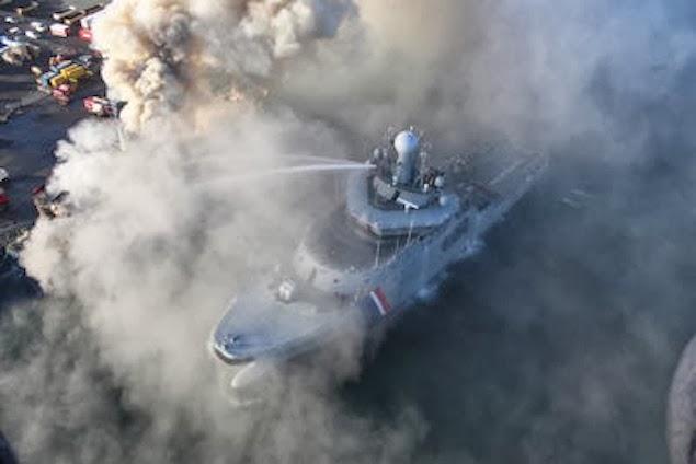 Προσπάθειες κατάσβεσης της πυρκαγιάς του φορτηγού πλοίου Fernanda [βίντεο+φωτο] - e-Nautilia.gr | Το Ελληνικό Portal για την Ναυτιλία. Τελευταία νέα, άρθρα, Οπτικοακουστικό Υλικό