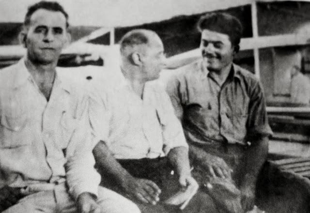 Με συναδέλφους ναυτικούς στο κατάστρωμα του καραβιού Via Senile Decay